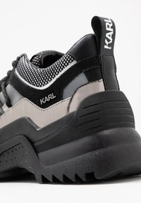 KARL LAGERFELD - QUEST DELTA MIX - Baskets basses - black/silver - 2