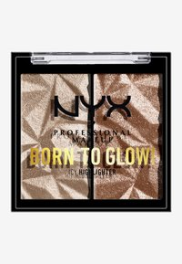 Nyx Professional Makeup - BORN TO GLOW ICY HIGHLIGHTER DUO - Hightlighter - 03 high key flex - 1