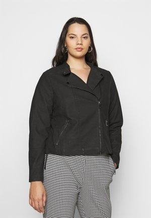 MISABELLA JACKET - Faux leather jacket - black
