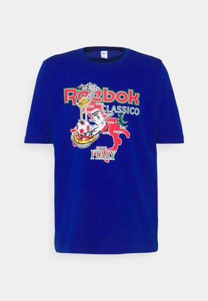 SOUVENIR TEE - Camiseta estampada - collegiate royal