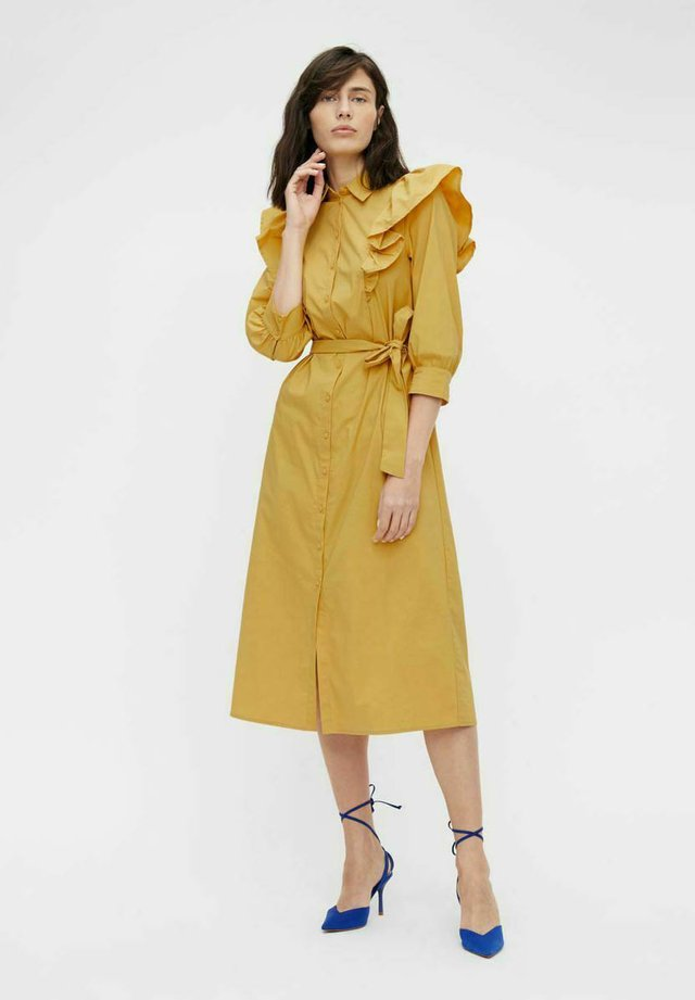 Shirt dress - bamboo
