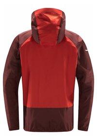 Haglöfs - L.I.M COMP JACKET  - Outdoor jacket - habanero/maroon red - 5