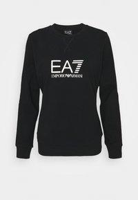 EA7 Emporio Armani - Sweatshirt - black/light gold - 0
