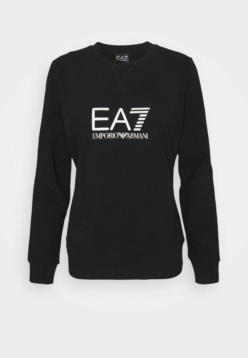 EA7 Emporio Armani - Sweatshirt - black/light gold