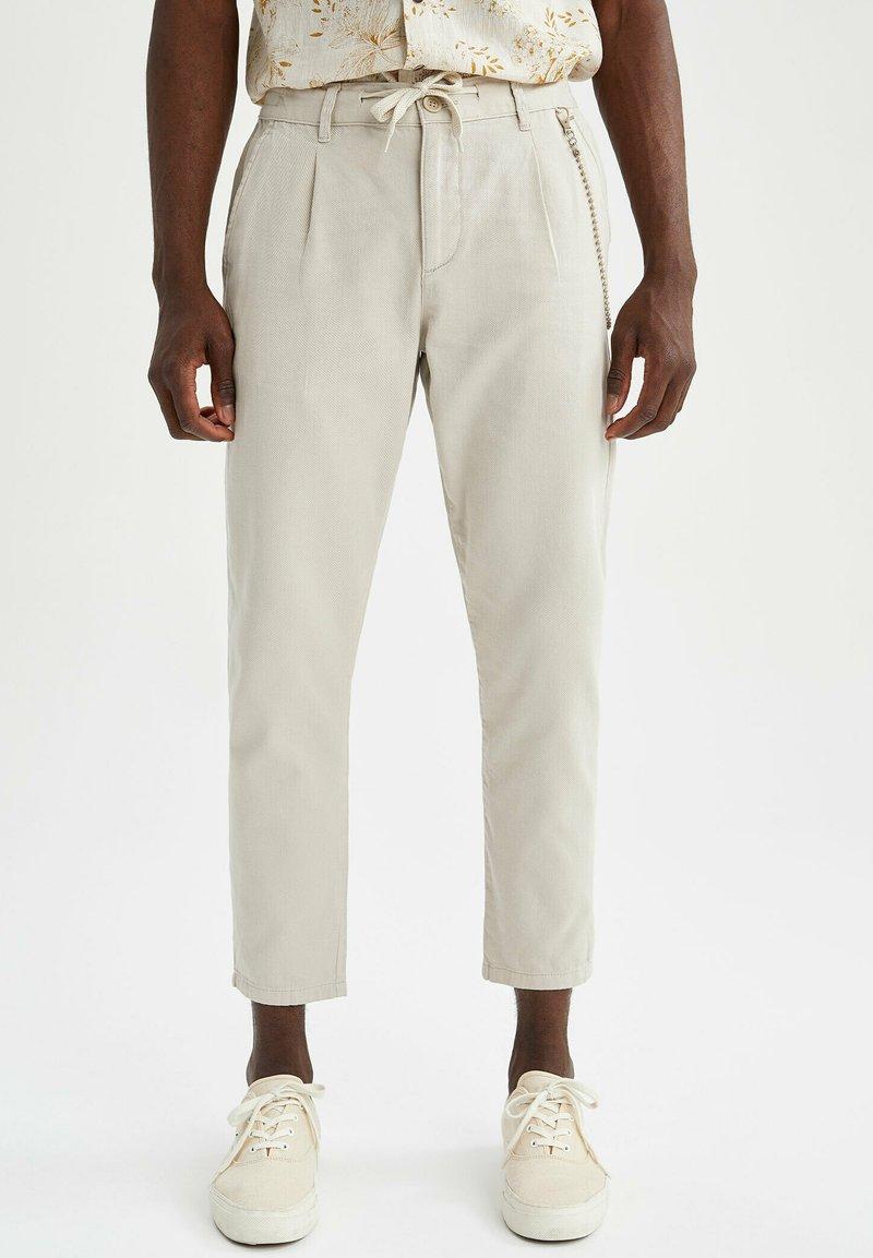 DeFacto - Pantalon classique - beige