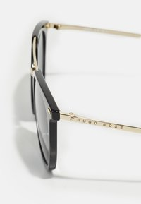 BOSS - UNISEX - Sunglasses - black gold-coloured - 3