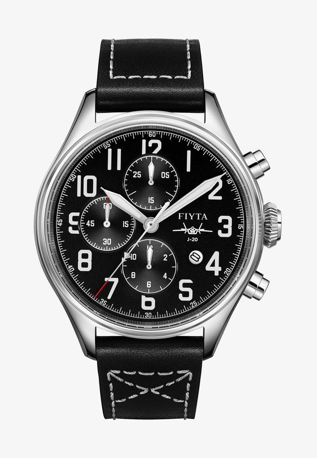 AUTOMATIKUHR MACH J-20 PILOT - Chronograph watch - schwarz