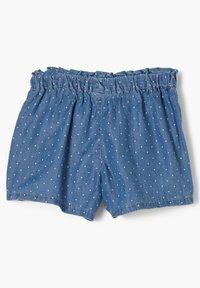 s.Oliver - Denim shorts - tone blue denim - 1
