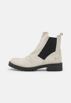 CASTER - Classic ankle boots - pacifico/offwhite