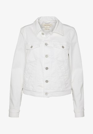 JACKET BUTTON CLOSURE GARMENT DYED - Denim jacket - soft white