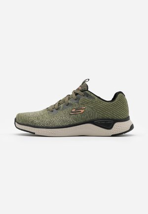 SOLAR FUSE - Baskets basses - olive/black