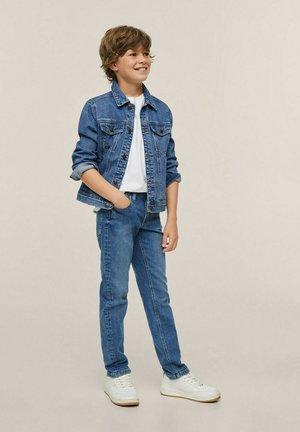 MET ZAKKEN - Denim jacket - middenblauw