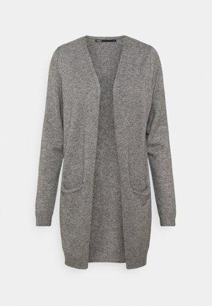 ONLQUEEN LONG CARDIGAN - Cardigan - medium grey melange