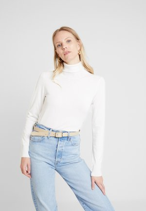 ASTRID ROLL NECK - Strickpullover - chalk