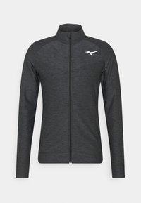 Mizuno - Training jacket - black melange - 0