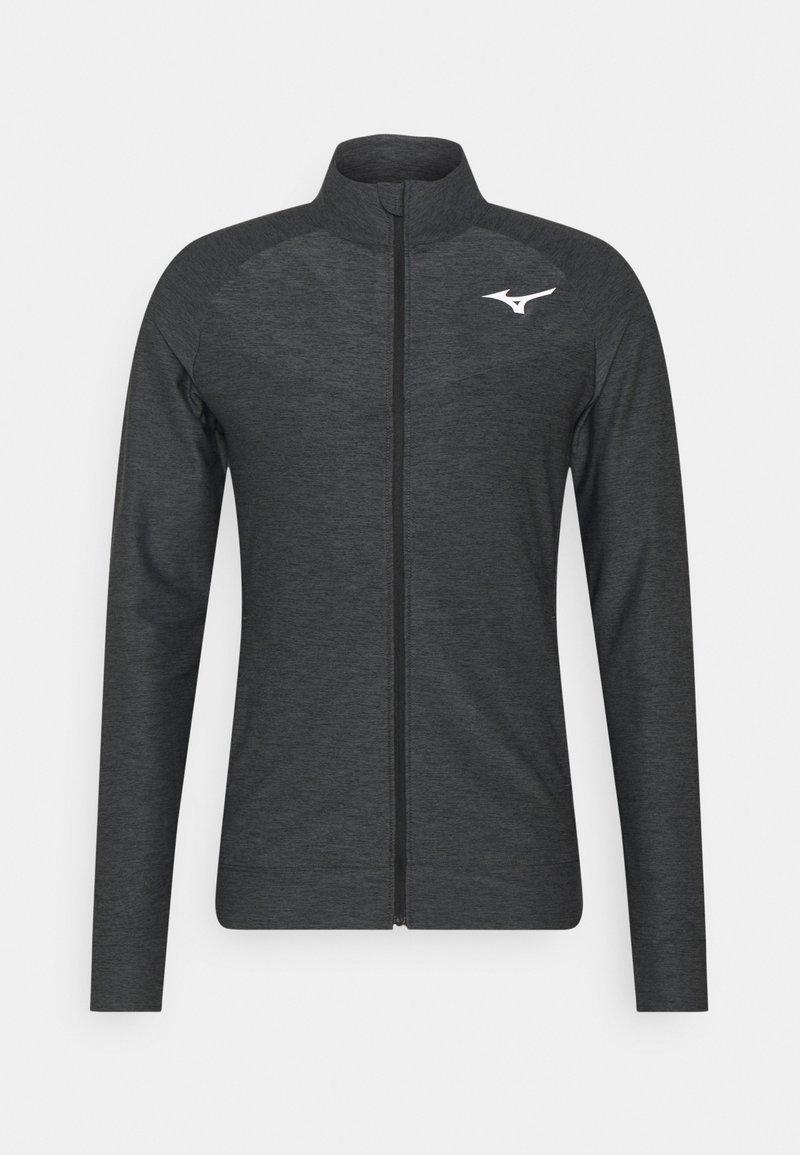 Mizuno - Training jacket - black melange