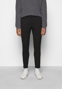 Les Deux - COMO SUIT PANTS - Trousers - black - 0