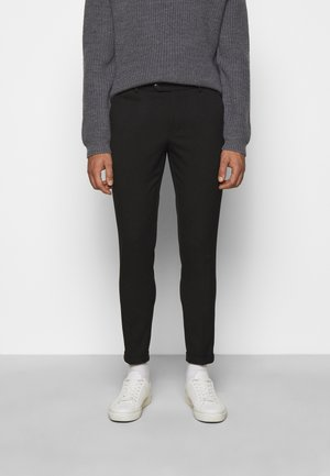COMO SUIT PANTS - Tygbyxor - black