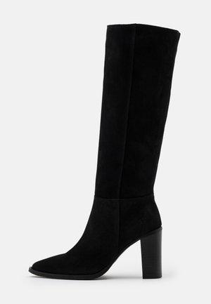 PACHA - High Heel Stiefel - noir