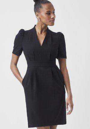 ILKAS WHISPHER RUTH  - Shift dress - black