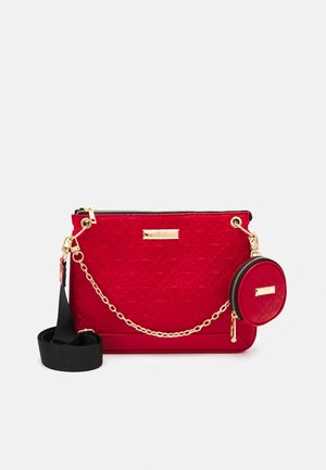 SET - Across body bag - red