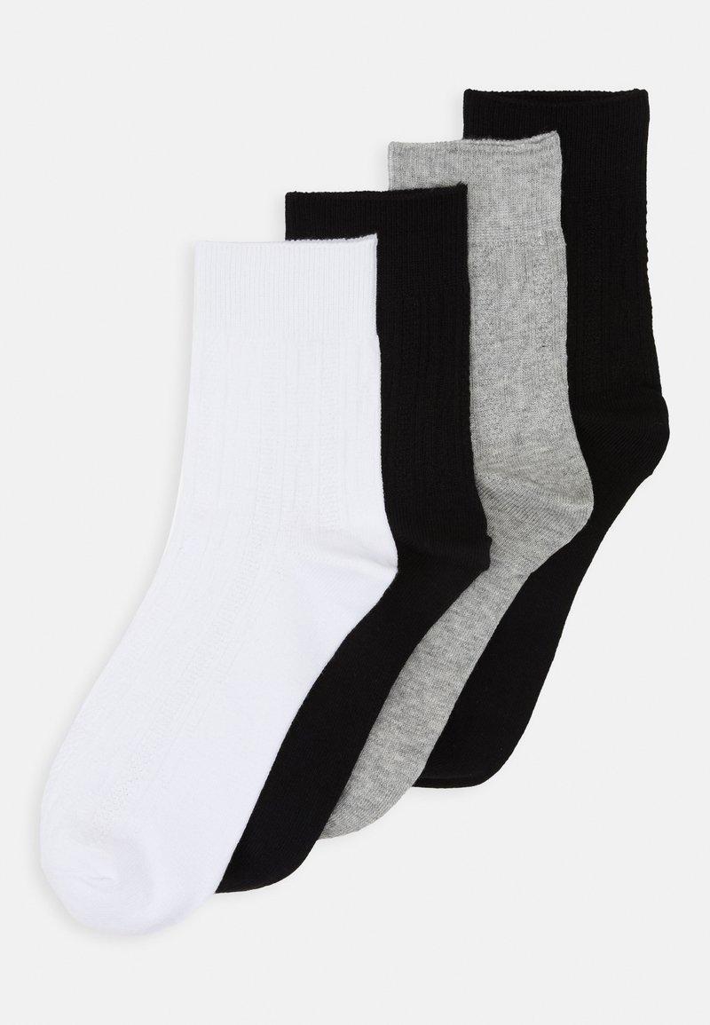 Vero Moda - VMJOSEFINE SOCKS 4 PACK - Ponožky - black