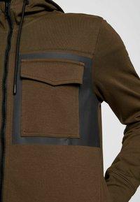 BOSS - Zip-up sweatshirt - open green - 5
