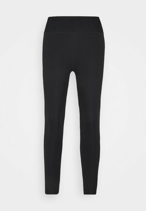 ONE LUXE CROP - Leggings - black/white