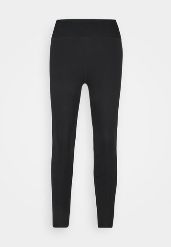 ONE LUXE CROP - Collant - black/white