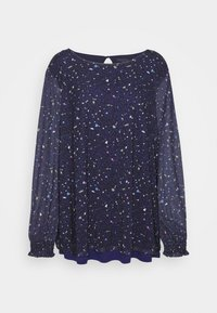 MY TRUE ME TOM TAILOR - BLOUSE WITH PRINT - Blouse - navy - 4