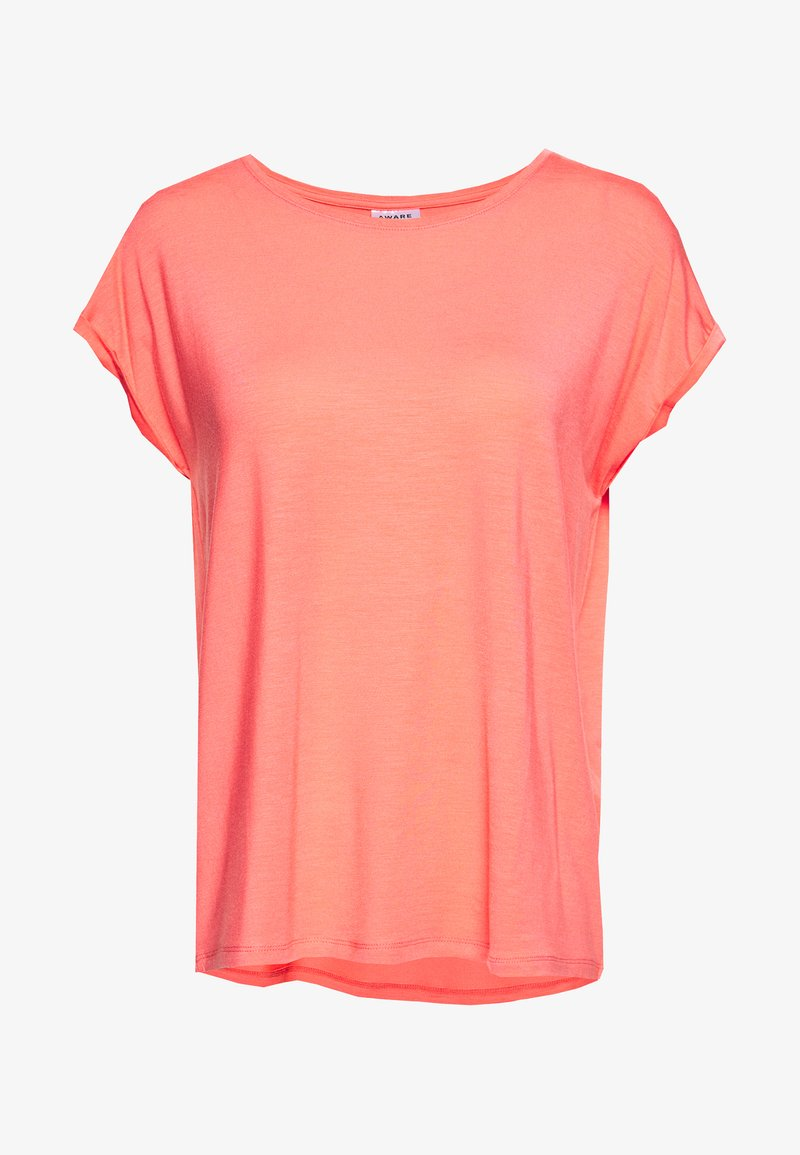Vero Moda - VMAVA PLAIN - T-shirt basic - salmon