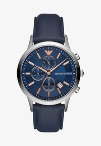 Emporio Armani - Chronograph watch - blau - 1
