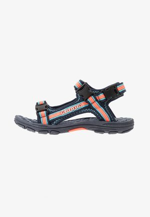 RUSHEEN - Outdoorsandalen - navy/coral