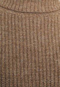 Even&Odd - CROPPED BOXY ROLL NECK - Jumper - mottled brown - 2