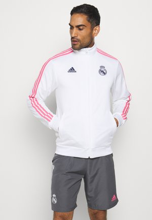 REAL MADRID SPORTS FOOTBALL TRACK - Club wear - white/dark blue