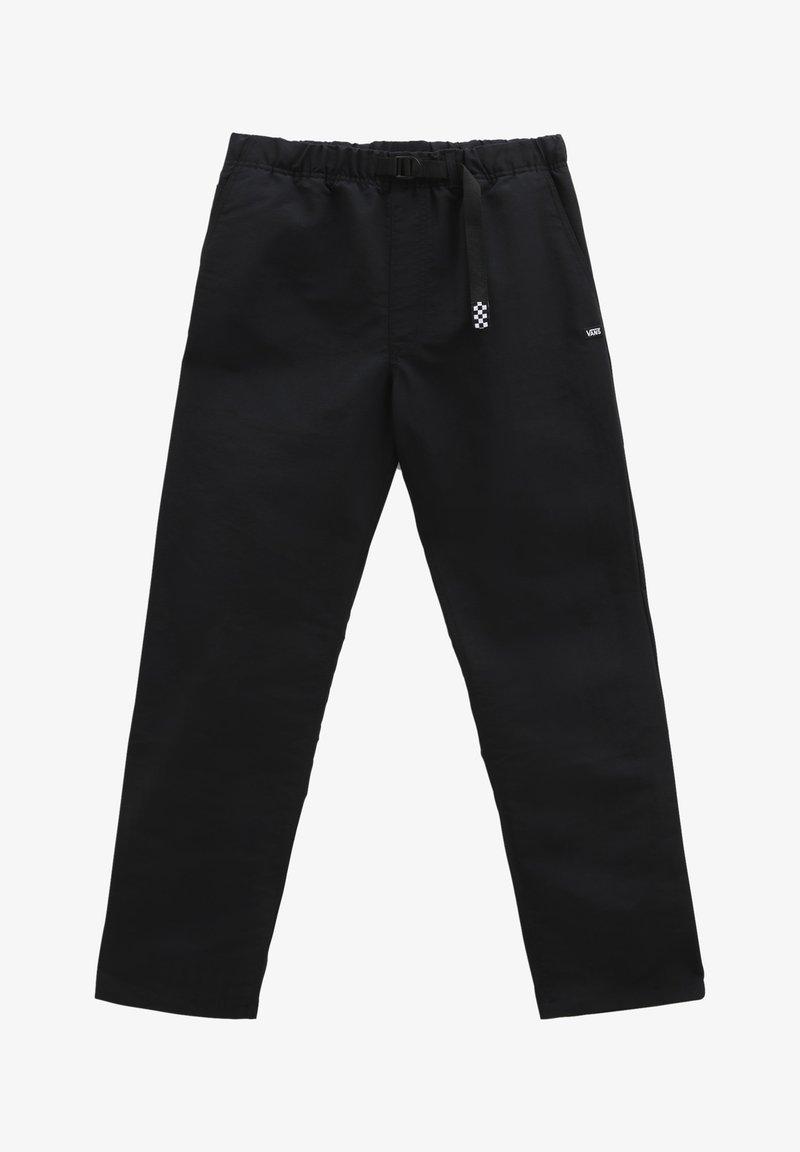 Vans - MN RIDGE LOOSE TAPERED NYLON ELASTIC PNT - Trousers - black