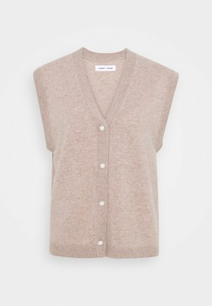 AMARIS VEST - Cardigan - warm grey