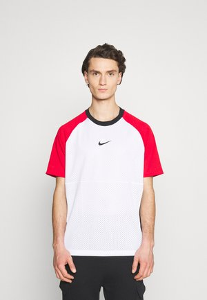 T-shirt imprimé - white/university red/black