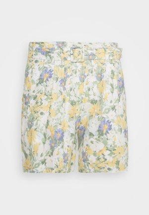 CITY FLORAL - Shorts - white