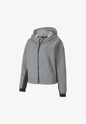 Training jacket - medium gray heather