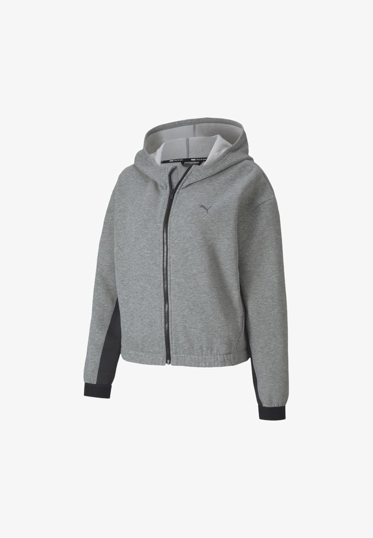 Puma - Training jacket - medium gray heather