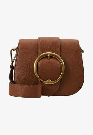 BELT SADDLE - Across body bag - cognac