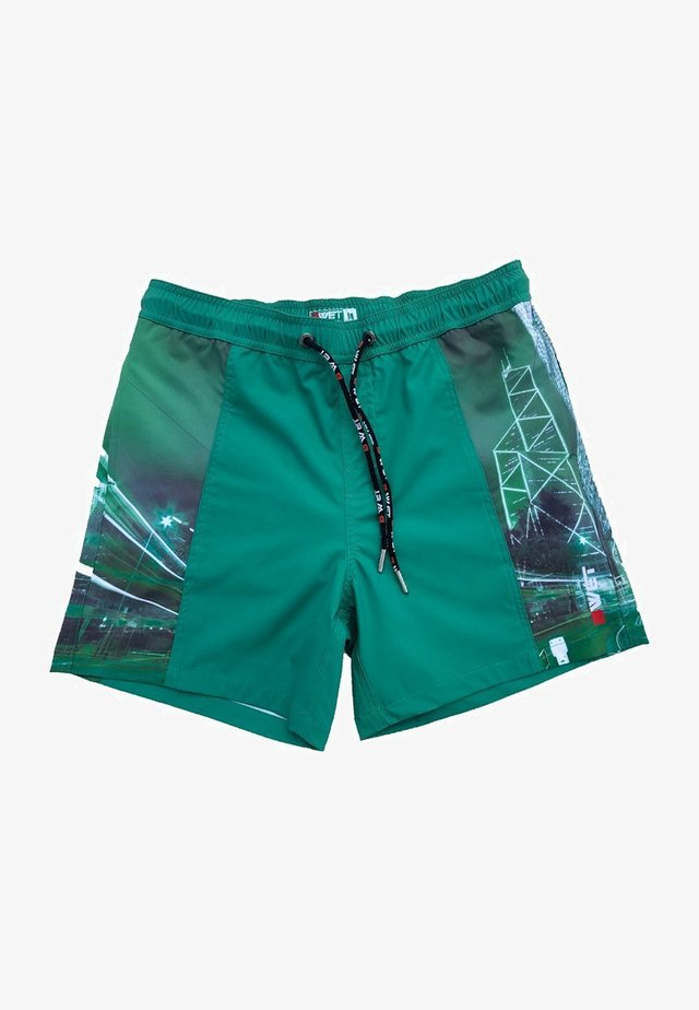 ECO-FRIENDLY QUICK DRY UV PROTECTION PERFECT FIT  - Zwemshorts - green