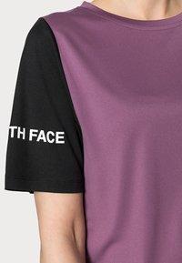 The North Face - Print T-shirt - pikes purple/black - 4