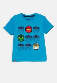 LEGO Wear - Print T-shirt - blue - 0