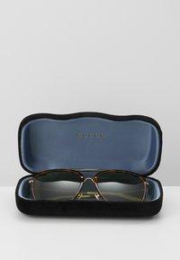 Gucci - Sunglasses - havana/gold-coloured/green - 3