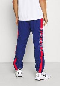 Lacoste Sport - TRACKSUIT BOTTOMS - Pantaloni sportivi - blue - 2