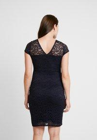 Envie de Fraise - ETOILE MATERNITY DRESS - Shift dress - navy blue - 3
