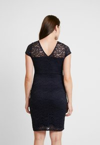 Envie de Fraise - ETOILE MATERNITY DRESS - Sukienka etui - navy blue - 3