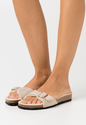 ONLMADISON SLIP ON  - Slippers - beige